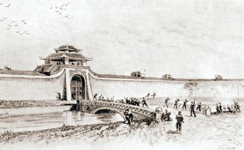 Quân Pháp đánh thành Hà Nội (20-11-1873)