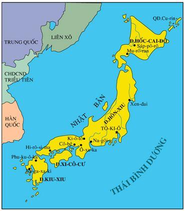 Lược đồ Nhật Bản