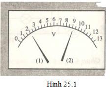 Giải bài tập SBT Vật lý lớp 7 bài 25: Hiệu điện thế